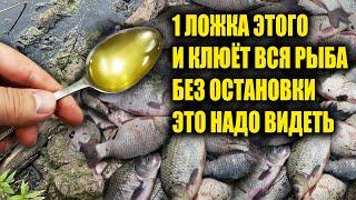 КЛЮЁТ ВСЯ РЫБА СЕКРЕТ КЛЁВА СССР Всего 1 ложка и будет не рыбалка а бешеный клёв