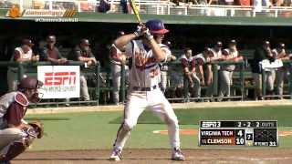 Clemson Baseball vs. Virginia Tech Series Highlights (March 7-9, 2014)