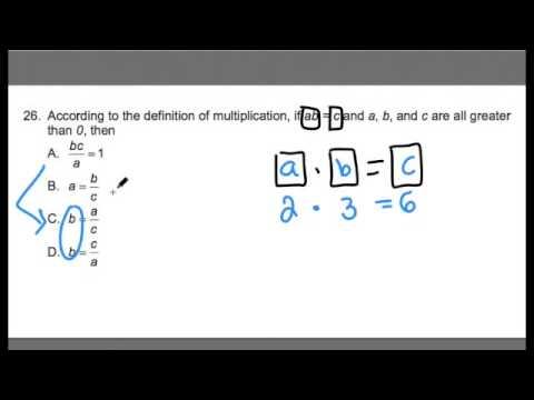 FTCE MATH ~ Variables ~ GOHmath.com - YouTube