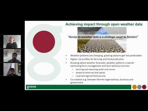 GODAN Webinar: Facilitating Standards and Impact Webinar - 18/10/17