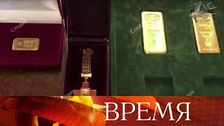 У арестованного сенатора Рауфа Арашукова нашли золотые слитки и драгоценности.