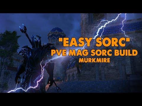 ESO - Easy Sorc - Magicka Sorcerer PVE Build - (Murkmire)