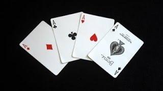 Repeat youtube video Kako pronaci 4 keca iz promesanog spila - trik sa kartama-OBJASNJENJE