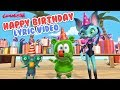 Happy Birthday Lyric Video Gummy Bear Song Kids Happy Birthday Song By Gummibär