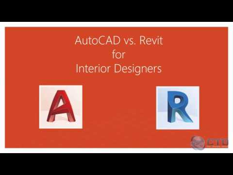 Revit Vs Autocad Interior Design Youtube