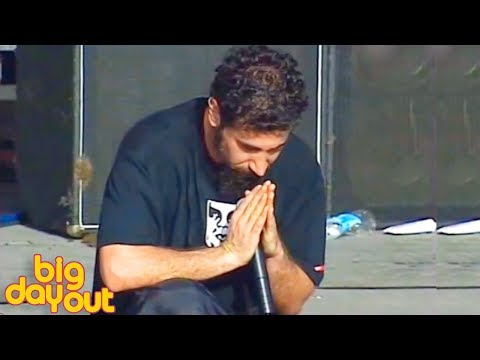 System Of A Down - Sugar live [ Big Day Out | 60fps ]
