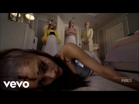 Ariana Grande (chanel#2) SCREAM QUEENS 1x02 - The chanels find The chanel#2 body