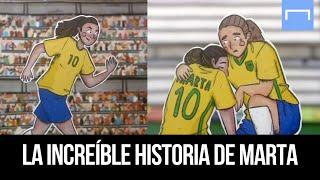 La increíble historia de Marta - ¡Es mucho más que una futbolista legendaria!