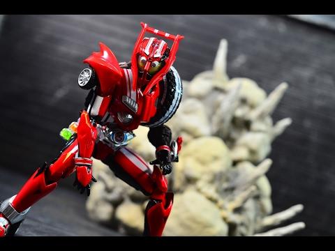 S.H.Figuarts Kamen Rider DRIVE type TRIDORON Tire KAKIMAZERL set Bandai Tamashii