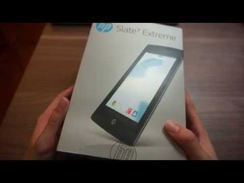 HP Slate 7 Extreme Unboxing & Preview (Thai)