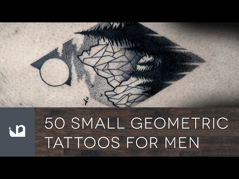50 Small Geometric Tattoos For Men