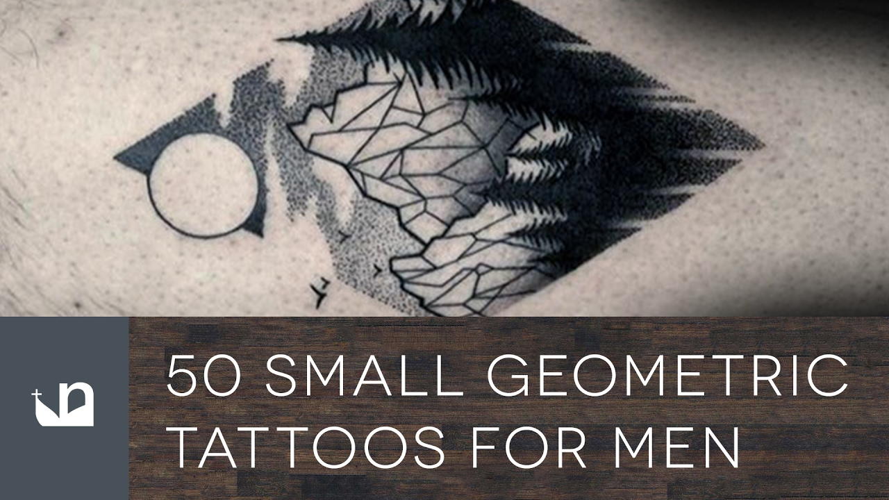 a61faba6f 50 Small Geometric Tattoos For Men - YouTube