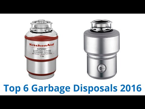 6 Best Garbage Disposals 2016