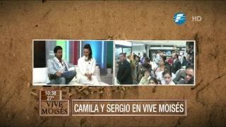 ¡Sergio Marone y Camila Rodrigues en Vive Moises!