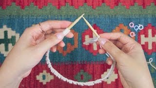 Knitting in the Round for Beginners