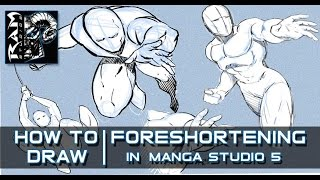 How to Draw Foreshortening for Comics  - Video Narrated by Robert Marzullo(Get my Figure Drawing Course here - https://gum.co/dPDEp - In this video I go over some foreshortening techniques that I use when drawing my comic book., 2015-09-20T23:01:12.000Z)