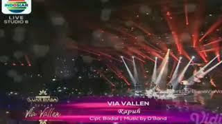 Rapuh - Via Vallen || Konser Luar Biasa Via Vallen Indosiar 2018