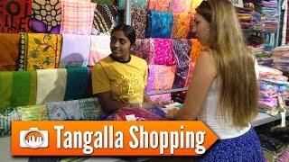 Sri Lanka 12: TANGALLA SHOPPING