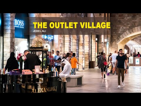 The Outlet village Dubai | New shopping experience.