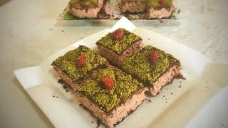FIRINDA PİŞMEYEN ÇİKOLATALI PASTA | How to make mousse cake