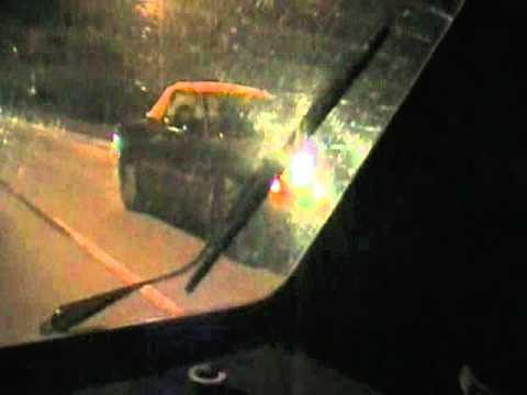 Volkswagen Rabbit vs. Mercury Capri 20mph roll