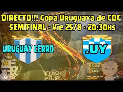 DIRECTO!!! Primera SEMIFINAL Copa Uruguaya 2 - Uruguay Cerro vs . UY