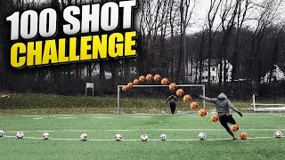 KREISLIGA vs. LANDESLIGA SPIELER  ⚽🔥 | ULTIMATIVE 100 SHOT CHALLENGE | FUßBALL CHALLENGE PMTV