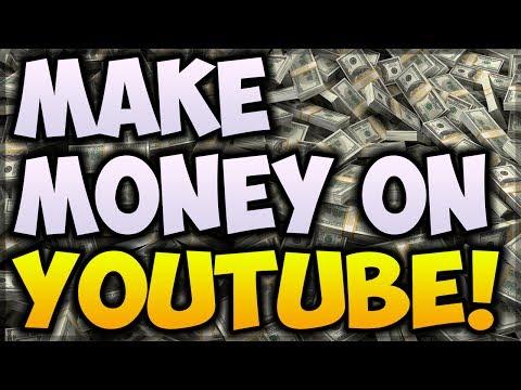 How To Make Money On YouTube! (2017) — 3 Ways To Make Money On YouTube!