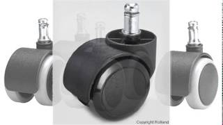 Chair casters for hardwood floors