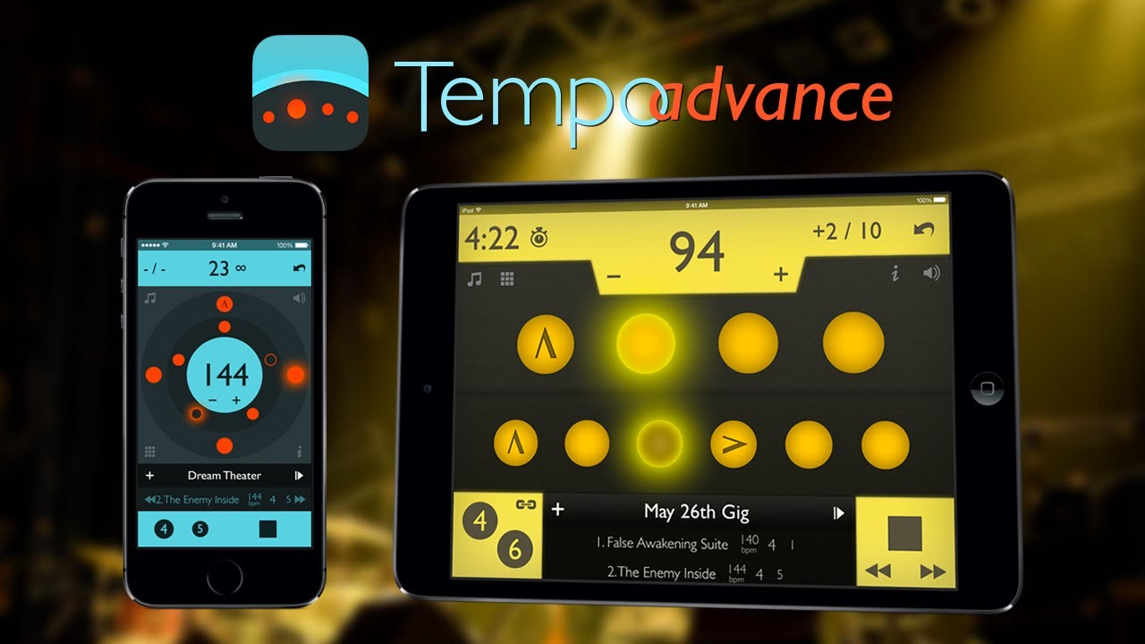 Tempo Advance by Frozen Ape, the famous metronome app