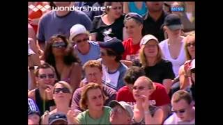 Wimbledon 2005 R4 - Mary Pierce vs. Flavia Pennetta