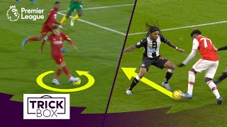 FIRMINO NO-LOOK PASS 🔥 SAKA NUTMEG 😱 | Best Premier League Skills MW26