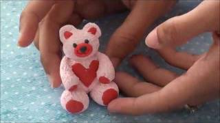 How to make a Polymer Clay Teddy-bear with ARTYSHILS
