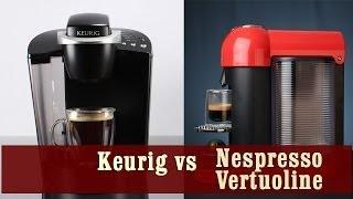 Keurig Coffee Maker vs Nespresso Vertuoline Coffee and Espresso Machine