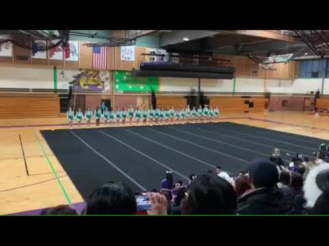 Jack Benny middle school cheer 1st place 2020