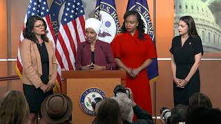 WATCH: Rep. Ilhan Omar says Trump's racist remarks not new for 'brown and black' communities