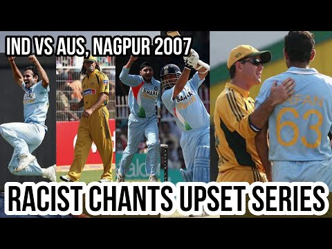 India Vs Australia @ Nagpur 6th ODI 2007 Highlights