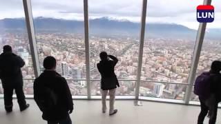 Sky Costanera: Así se ve Santiago desde el mirador más alto del país