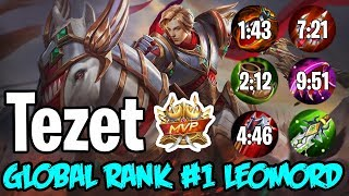 Global Rank 1 Leomord ft. Tezet - Rank Gameplay Seaon 13