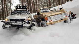Mercedes Ml500 And Toyota 4runner, Scale Rc ... Заправляем Мотоцикл