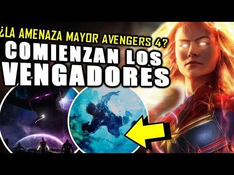 ¡INICIATIVA VENGADORES! Captain Marvel Trailer entrega la Invasión Secreta   Análisis y Teoría