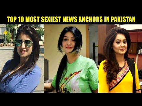 TOP 10 SEXIEST NEWS ANCHORS OF PAKISTAN|LATEST|2018 😍