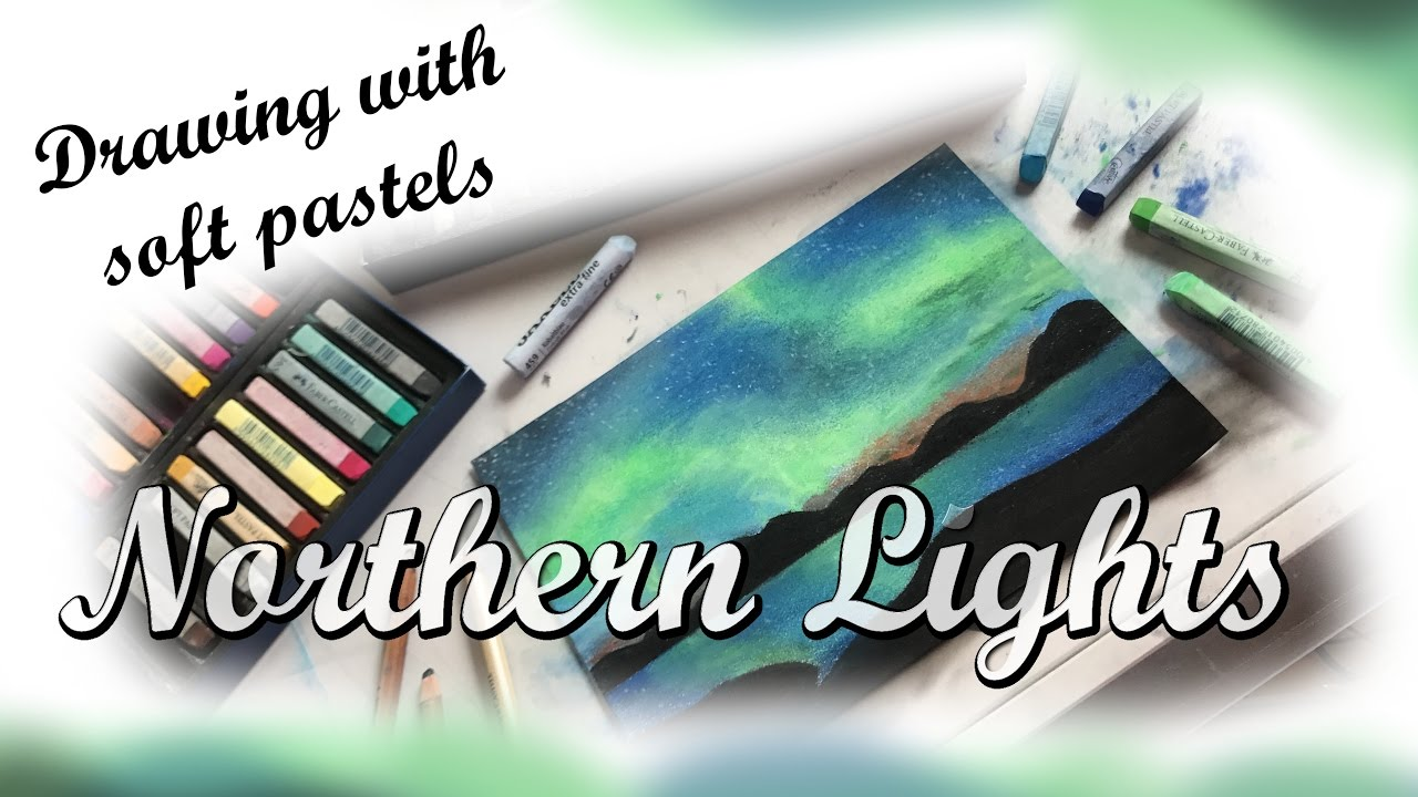 how to use soft pastels youtube