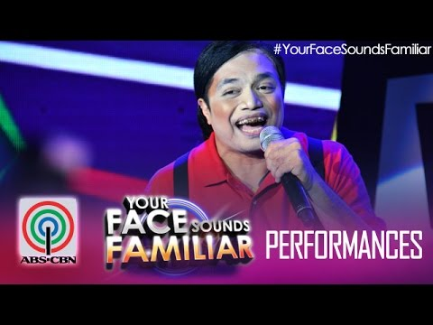 "Your Face Sounds Familiar: Nyoy Volante as Yoyoy Villame - ""Butsekik"""