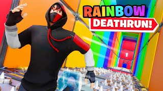 This Rainbow Deathrun has the CRAZIEST levels...