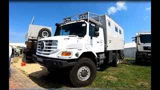 MERCEDES ZETROS 1833 A 4X4 ACTION MOBIL PURE 5000 CAMPER WALKAROUND + INTERIOR