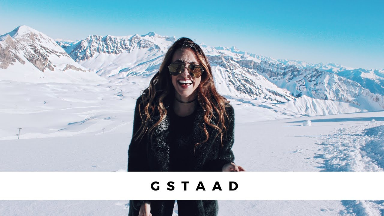 ec8389f5eb Redefining Paradise, Winter in Gstaad - Clutch & Carry-On