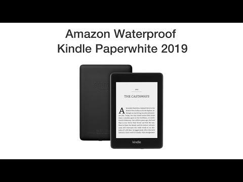 Amazon Waterproof Kindle Paperwhite 2019