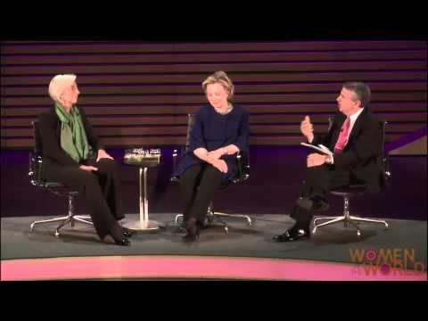 A Conversation with Hillary Rodham Clinton and Christine Lagarde - 2014 [FULL HD]