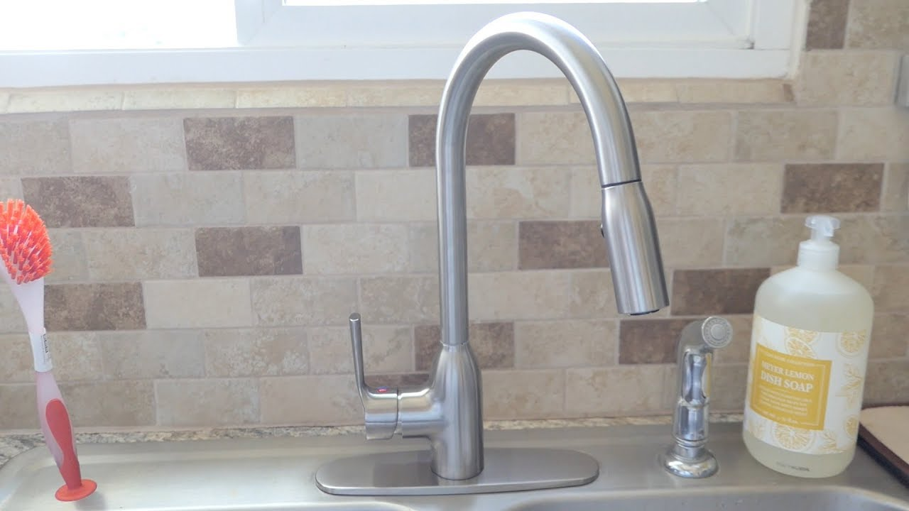 How To Install A Kitchen Faucet Youtube
